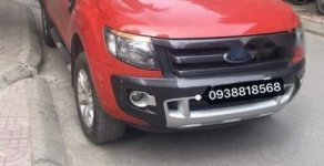 Bán Ford Ranger Wildtrak 3.2L  AT 4X4 sản xuất năm 2014, màu đỏ, xe nhập chính chủ giá 630 triệu tại Hà Nội