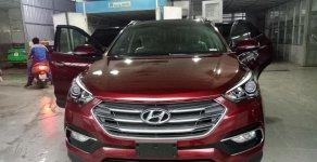 Bán Hyundai Santa Fe 2.4AT đặc biệt 2018, máy xăng, màu đỏ, giao ngay giá 1 tỷ 180 tr tại Tp.HCM