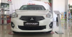 Bán ô tô Mitsubishi Attrage 2018, màu trắng, vay 90% giá 376 triệu tại Đà Nẵng