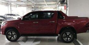 Bán Toyota Hilux 2.8G AT 2018, màu đỏ, nhập khẩu Thái Lan  giá 878 triệu tại Tp.HCM