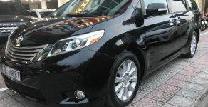 Bán Toyota Sienna Limited 3.5 đời 2015, màu đen, nhập khẩu giá 3 tỷ 300 tr tại Hà Nội