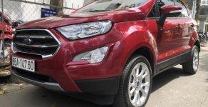 Bán Ford Ecosport Titanium, sx 2018, màu đỏ, chạy 3,000 km, giá 627 triệu giá 627 triệu tại Tp.HCM