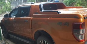 Chính chủ bán Ford Ranger Wildtrak 3.2L 4x4 AT đời 2016, màu vàng cam, nhập khẩu giá 850 triệu tại Nghệ An