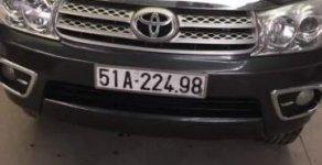 Bán ô tô Toyota Fortuner 2.5G đời 2009, màu xám chính chủ giá 599 triệu tại Tp.HCM