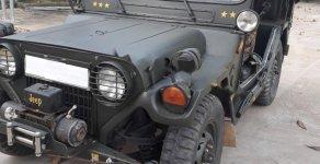 Cần bán xe Jeep A2 đời 1990, màu xanh, nhập khẩu giá 210 triệu tại Đồng Nai