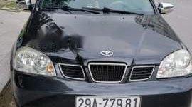 Bán xe Daewoo Lacetti sản xuất 2007, màu đen số sàn, giá chỉ 159 triệu giá 159 triệu tại Bắc Ninh
