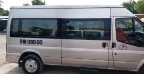 Cần bán xe Ford Transit 16 chỗ, màu ghi vàng, đk 2013, xe tốt giá rẻ giá 425 triệu tại Tp.HCM