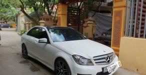 Bán Mercedes C300 AMG năm 2013, màu trắng giá 895 triệu tại Hà Nội