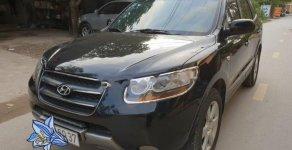 Bán xe Hyundai Santa Fe MLX sản xuất 2007, màu đen, nhập khẩu  giá 480 triệu tại Hà Nội