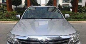 Bán ô tô Toyota Fortuner V AT 4x4 đời 2015, màu bạc chính chủ giá cạnh tranh giá 768 triệu tại Hà Nội