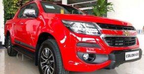 Bán Chevrolet Colorado năm 2018, màu đỏ, xe nhập, giá chỉ 594 triệu giá 594 triệu tại Tp.HCM