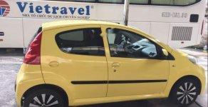 Bán Peugeot 107 năm 2011, màu vàng, nhập khẩu nguyên chiếc giá 265 triệu tại Tp.HCM