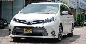 Bán xe Toyota Sienna Limited đời 2018, màu trắng, nhập khẩu giá 4 tỷ 150 tr tại Hà Nội