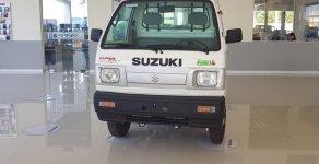 Bán trả góp Suzuki Truck 650kg thùng lửng - màu trắng - giá ưu đãi giá 249 triệu tại Kiên Giang