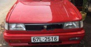 Cần bán Isuzu Gemini năm sản xuất 1984, màu đỏ, nhập khẩu nguyên chiếc xe gia đình giá 59 triệu tại An Giang