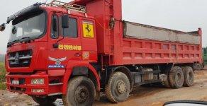 Cần bán xe tải trên 30 tấn 2013, màu đỏ, nhập khẩu giá 800 triệu tại Thái Nguyên