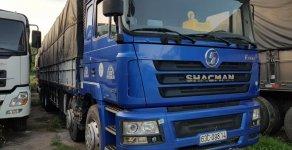 VPBANK bán xe tải Shacman 4 chân đời 2015, màu xanh lam, giá khởi điểm 670 triệu giá 670 triệu tại Tp.HCM