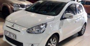 Cần bán xe Mitsubishi Mirage đời 2015, màu trắng giá cạnh tranh giá 338 triệu tại Tp.HCM