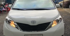 Bán ô tô Toyota Sienna 3.5 FWD AT sản xuất năm 2012, màu trắng, xe nhập giá 1 tỷ 750 tr tại Tp.HCM