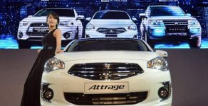 Bán Mitsubishi Attrage MT ECO đời 2018, màu trắng, nhập khẩu  giá 375 triệu tại Đà Nẵng
