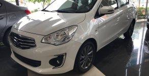 Cần bán Mitsubishi Attrage MT sản xuất 2018, màu trắng, xe nhập, 375 triệu giá 375 triệu tại Đà Nẵng