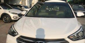 Cần bán xe Hyundai Santa Fe 2.4 4WD đời 2017, màu trắng giá 1 tỷ 95 tr tại Hà Nội