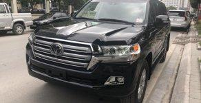 Bán xe Toyota Land Cruiser VX V8 5.7 nhập Mỹ đời 2018, màu đen, xe nhập giá 7 tỷ 250 tr tại Hà Nội