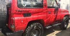 Bán Toyota Land Cruiser sản xuất 1992, màu đỏ, nhập khẩu, giá tốt giá 455 triệu tại Lâm Đồng