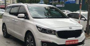 Xe Kia Sedona sản xuất 2017, màu trắng giá 1 tỷ 95 tr tại Hà Nội