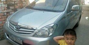 Cần bán lại xe Toyota Innova G đời 2009, màu bạc xe gia đình, giá tốt giá 410 triệu tại Tp.HCM