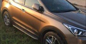 Bán Hyundai Santa Fe đời 2017, màu nâu giá 1 tỷ 150 tr tại Tp.HCM