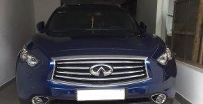 Bán xe Infiniti QX70 2015 màu xanh nhập Mỹ nhà sử dụng giá 2 tỷ 650 tr tại Tp.HCM