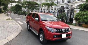 Nhà dư dùng cần bán xe bán tải Triton 2018, số sàn, máy dầu, màu đỏ giá 517 triệu tại Tp.HCM