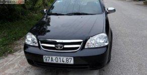 Cần bán Daewoo Lacetti EX đời 2008, màu đen như mới giá 195 triệu tại Phú Thọ