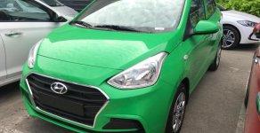 Bán Hyundai i10 1.2 MT Base màu xanh Mai Linh giao ngay, 100tr nhận xe giá 360 triệu tại Tp.HCM