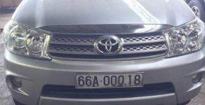 Bán xe Toyota Fortuner MT đời 2010, màu bạc, xe nhập   giá 650 triệu tại Bình Dương