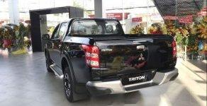 Bán Mitsubishi Triton 4X4 AT Mivec 2018, màu đen, nhập khẩu giá 770 triệu tại Bình Dương