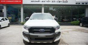 Cần bán xe Ford Ranger Wildtrak 3.2 2015, màu trắng, Hỗ trợ trả góp 70% giá trị xe, LH 0966988860 giá 739 triệu tại Hà Nội