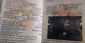Cần bán xe tải Ben nhãn hiệu Việt Trung 8 tấn 2017, màu xanh giá 380 triệu tại Lâm Đồng