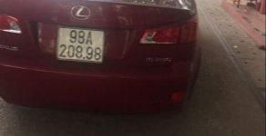 Bán xe Lexus IS 250 2010, màu đỏ, nhập khẩu, giá tốt giá 950 triệu tại Bắc Giang