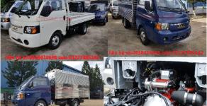 xe tải JAC thùng bạt máy dầu 990kg giá 301 triệu tại Tp.HCM