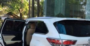 Bán xe Toyota Highlander đời 2014, màu trắng, nhập khẩu   giá 1 tỷ 810 tr tại Hà Nội