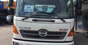 Bán Hino 2018 6.2 tấn chở xe máy (có bửng nâng) thùng dài 6.6m full inox trả góp giá 848 triệu tại Tp.HCM