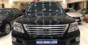Bán xe Lexus LX 570 năm 2009, màu đen, nhập khẩu giá 2 tỷ 550 tr tại Tp.HCM