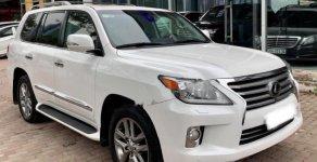 Bán Lexus LX 570 năm sản xuất 2012, màu trắng, nhập khẩu nguyên chiếc Mỹ giá 4 tỷ 399 tr tại Hà Nội