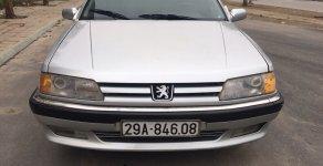 Bán Peugeot 605 SR năm sản xuất 1994, màu bạc, nhập khẩu giá 95 triệu tại Hà Nội