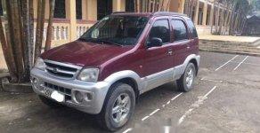 Bán xe Daihatsu Terios MT 4WD 1.3 đời 2004, máy xăng 2 cầu điện, màu đỏ, biển HN giá 181 triệu tại Thanh Hóa