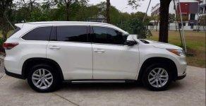 Chính chủ bán Toyota Highlander AT đời 2014, màu trắng, nhập khẩu giá 1 tỷ 750 tr tại Hà Nội