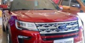 Bán Ford Explorer 2018, màu đỏ, nhập khẩu giá 2 tỷ 193 tr tại Cần Thơ