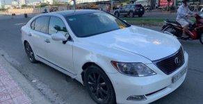 Bán xe Lexus LS. 460L, model 2008, nhập Mỹ cuối 2009 màu trắng, số tự động, máy xăng, đã đi 50000 km giá 1 tỷ 180 tr tại Tp.HCM